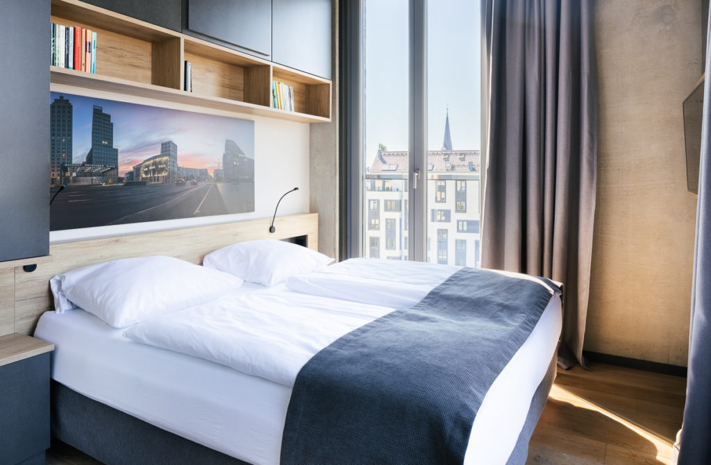 Zimmer bei den Downtown Apartments in Berlin