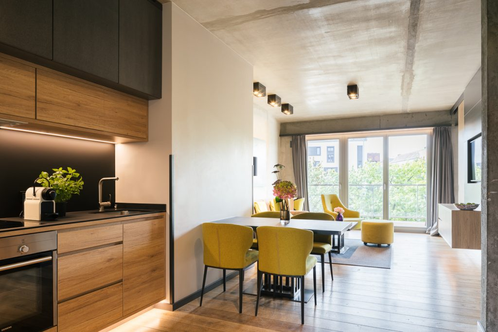 Zimmer im möblierten Apartment Berlin Mitte